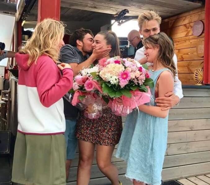 L'actrice qui incarne Jessica Moreno a fait ses adieux à ses collègues... oui, elle quitte le feuilleton de TF1