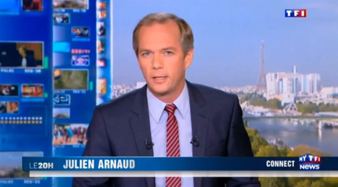 En plus de LCI, Julien Arnaud est devenu joker de Claire Chazal puis de Gilles Bouleau sur TF1.