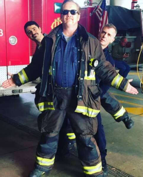 Christian Stolte, le pompier de Chicago Fire, est un homme qui peut en cacher deux