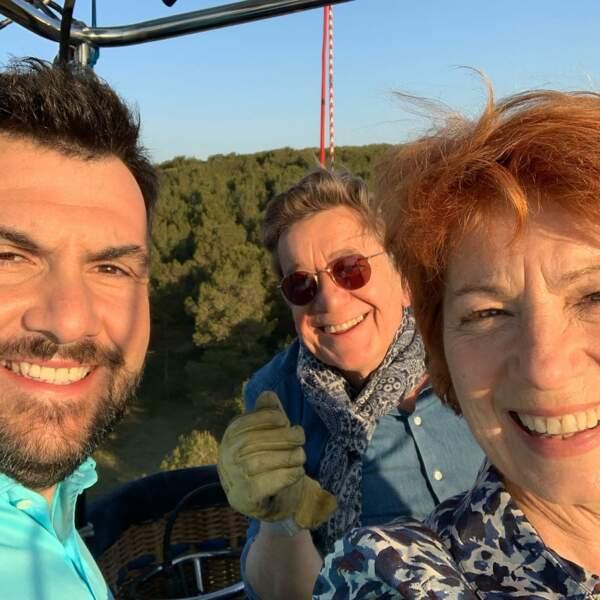 Grand soleil pour les 10 ans de Camping Paradis, avec Véronique Genest, Laurent Ournac et Patrick Raynal.