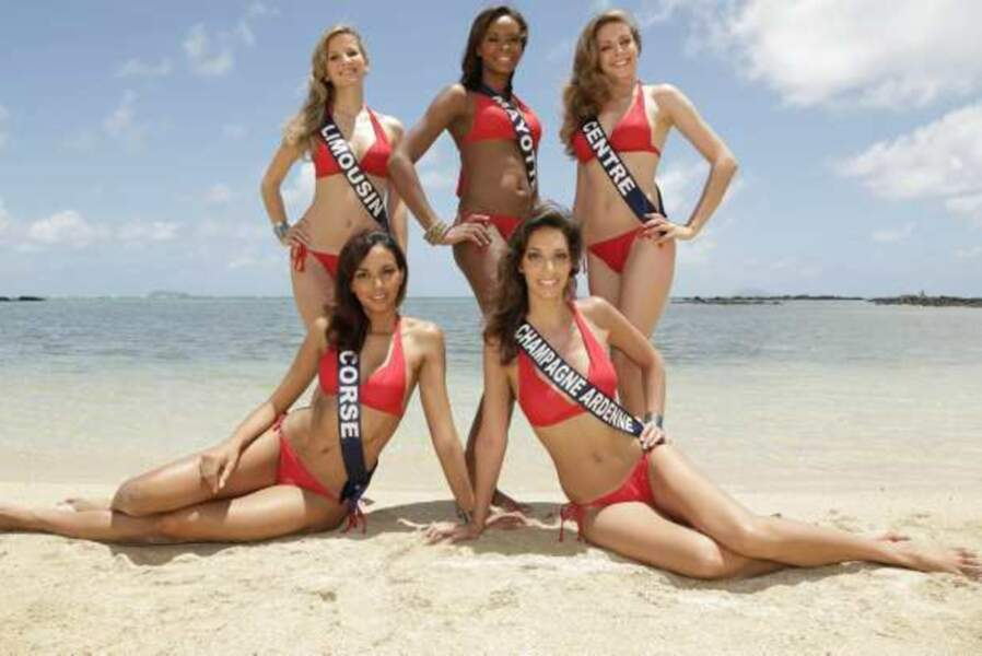 Miss Limousin, Centre, Champagne-Ardenne, Mayotte, Corse
