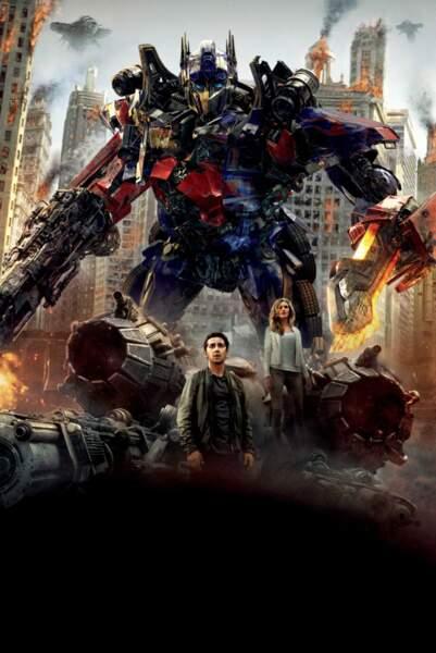 Transformers 3, la face cachée de la lune : 1,123 milliard de dollars de recettes (816 millions d'euros)