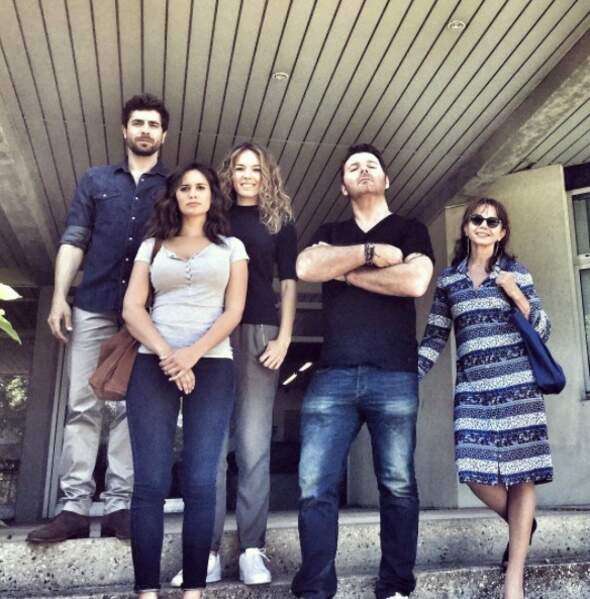 L'équipe de Clem est réunie pour le tournage de la saison 8