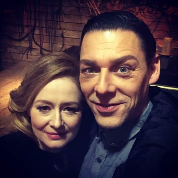 MIranda Otto confirme avec cette photo l'ambiance étrange sur le tournage des Nouvelles Aventures de Sabrina