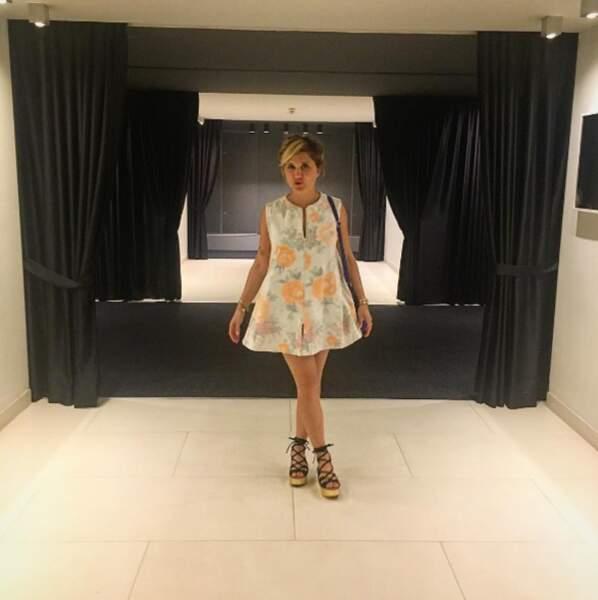 Ou encore juste sublime en robe pour aller danser !