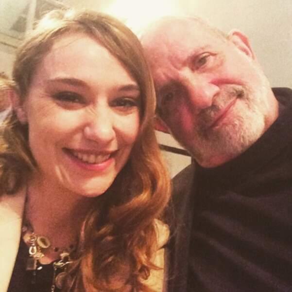 La classe : selfie avec le réalisateur Brian de Palma, rien que ça !