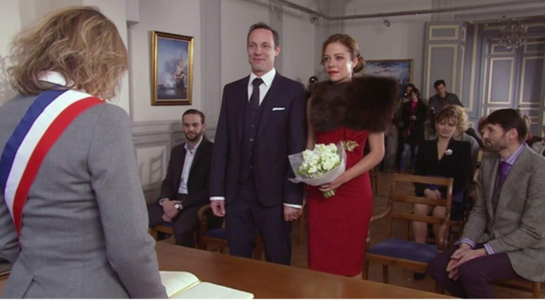 Xavier et Johanna à la mairie
