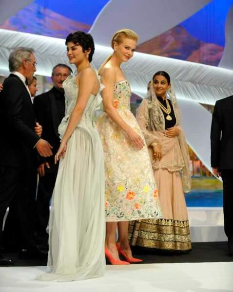 Audrey Tautou et Nicole Kidman