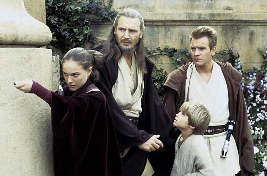 """En 1999, on la retrouve dans la saga mythique """"Star Wars : Episode 1 - La Menace fantôme"""" de George Lucas"""