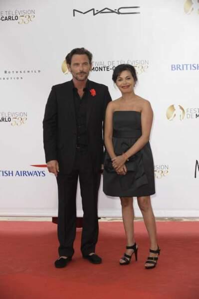 Sagamore Stévenin et Saïda Jawad, acteurs de Falco sur TF1