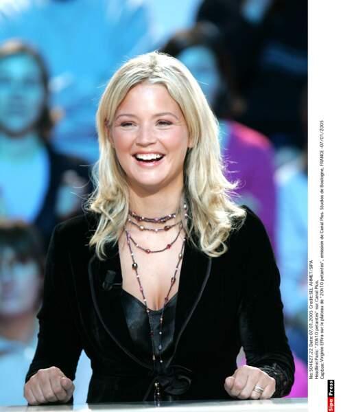 Elle signe avec Canal+ en 2008. Son énergie et sa bonne humeur plaisent beaucoup !