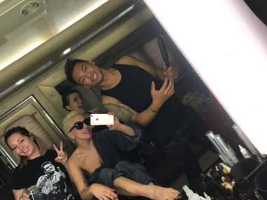 Diapo tournages : c'est la rentrée pour Lady Gaga, Pamela Anderson ou l'équipe d'Esprits Criminels