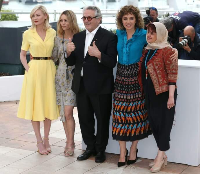 Monsieur et ses drôles de dames, les membres du Jury féminines
