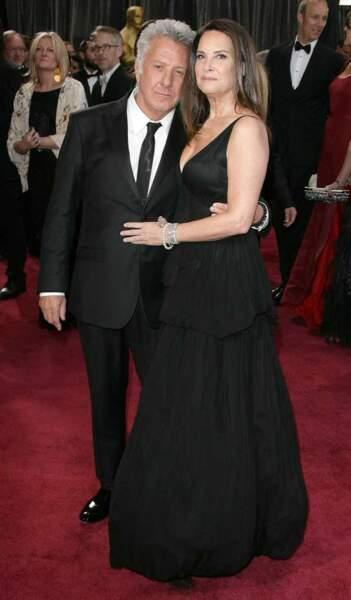 Dustin Hoffman et sa femme Lisa Hoffman