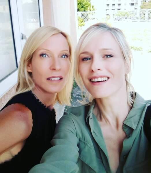 Décidément, les actrices de Plus belle la vie adorent les selfies