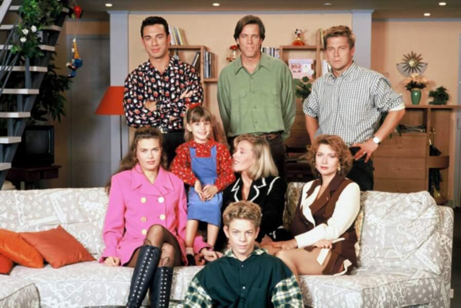 L'équipe des Filles d'à côté de 1993 à 1995 sur TF1
