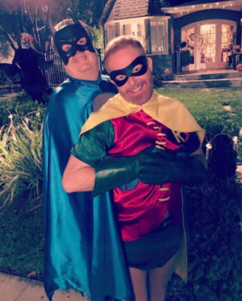 Alors qu'Eric Stonestreet et Jesse Tyler Ferguson ont préféré incarner Batman et Robin