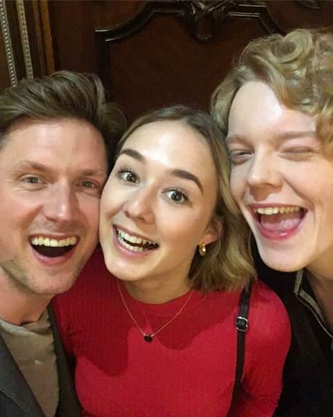 Le trio de The Rain est en forme pour tourner la saison 2 de la série de Netflix