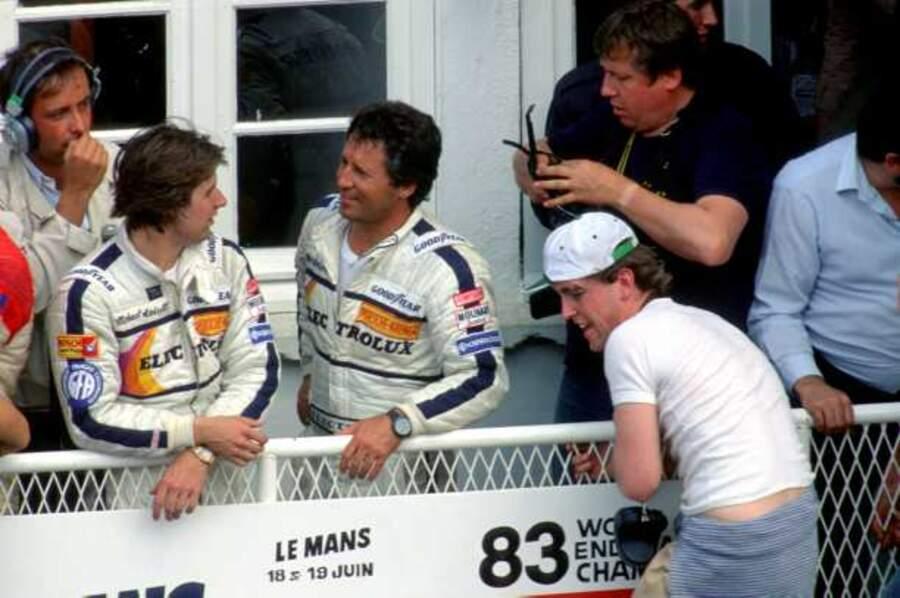 Ici avec son frère Mike (à gauche), l'Américain Mario Andretti a participé huit fois dont la dernière à 60 ans