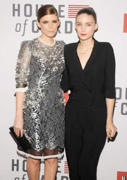 Kate et Rooney Mara