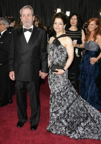 Tommy Lee Jones et sa femme Dawn Laurel-Jones