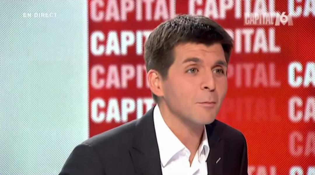 Thomas Sotto, après avoir présenté Capital, anime la matinale d'Europe 1