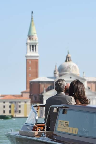 """C'est à Venise que George Clooney et Amal Alamuddin ont choisi de se dire """"oui""""…"""