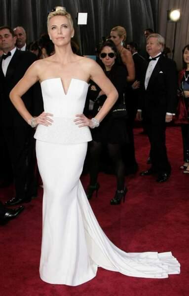 La magnifique Charlize Theron...