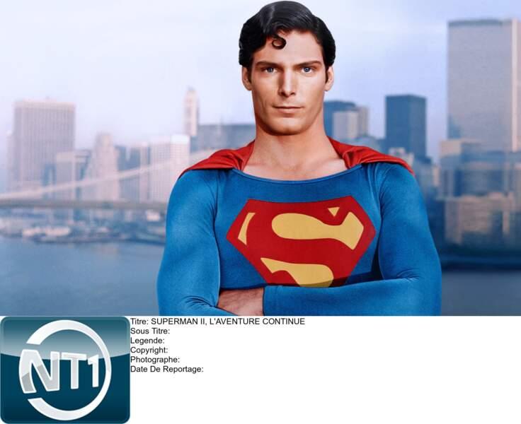 Superman, bleu ciel forcément !