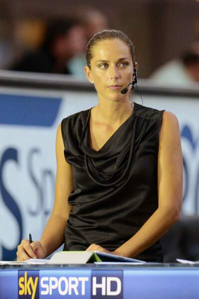 Anna Billo exerce ses talents sur Sky Sports Italia.