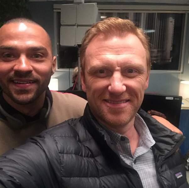 Jesse Williams et Kevin McKidd : les acteurs de Grey's Anatomy réalisent aussi des épisodes de la série