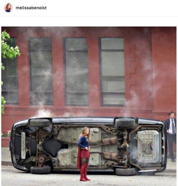 Oops... Supergirl a encore frappé