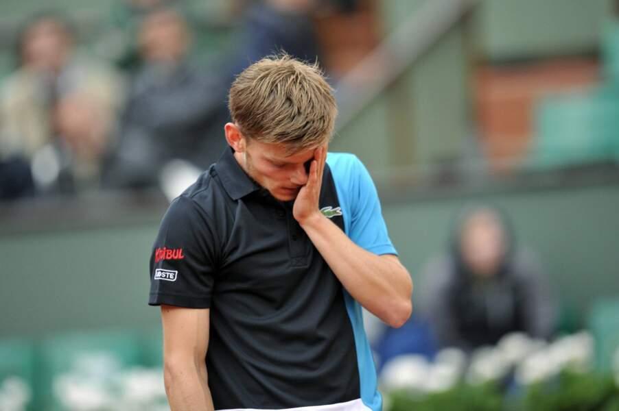 Même s'il a bien lutté, le belge David Goffin a plié sous les coups de Novak Djokovic