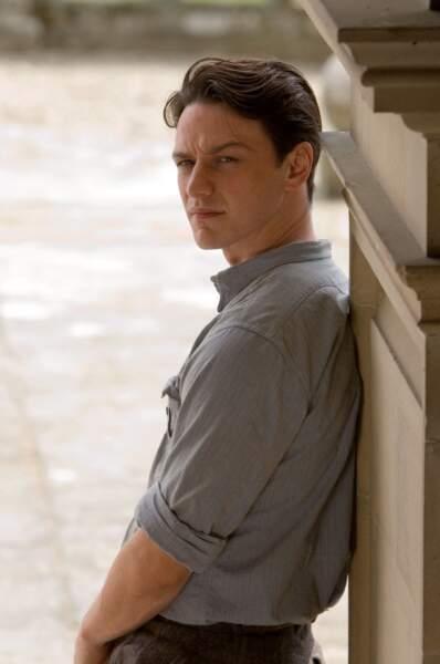 9) James McAvoy (X-Men : Days of Future Past)