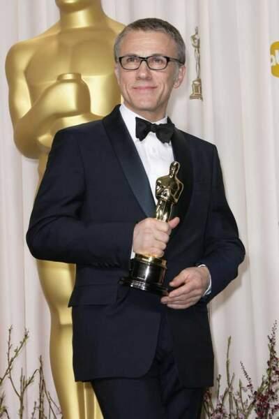 Christopher Waltz, meilleur acteur dans un second rôle pour Django Unchained