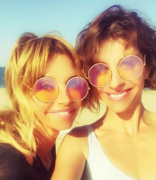 Les actrices de Demain nous appartient ont aussi le sourire à la plage