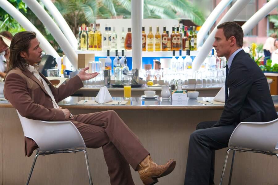 Il réitère sa collaboration avec Ridley Scott pour Cartel où il partage l'affiche avec Brad Pitt et...