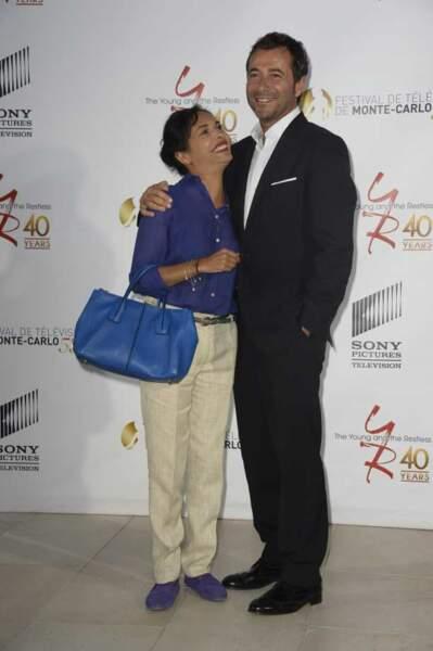 Saïda Jawad et Bernard Montiel