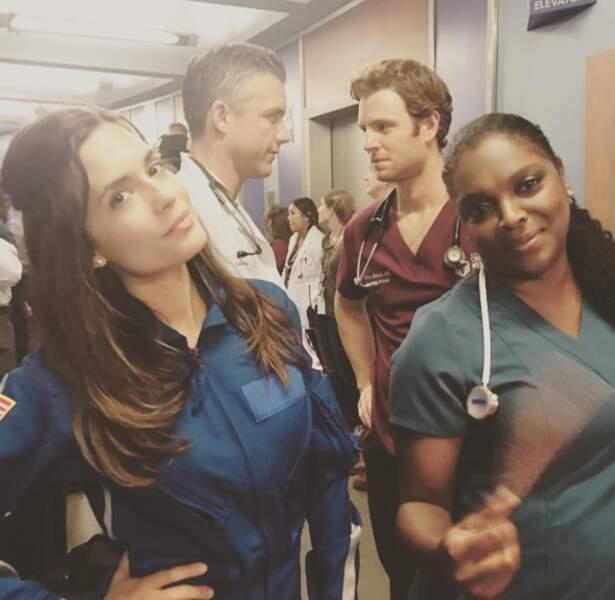 L'équipe de Chicago Med aussi a ressorti les blouses du placard