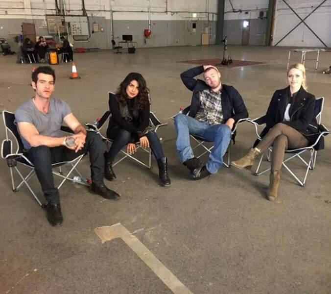 L'équipe de Quantico vient tout juste de mettre en boîte la totalité de la saison 3 !