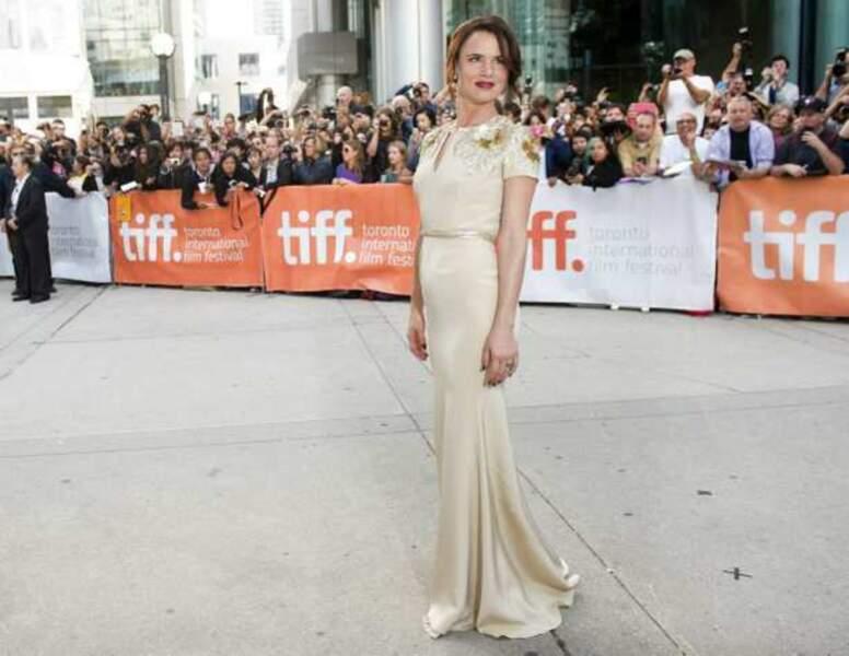 Juliette Lewis à l'avant-première du film August, Osage County (Le temps d'un été)