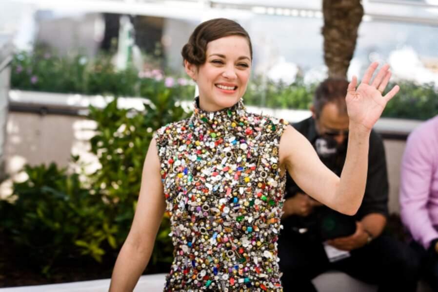 Marion Cotillard a été très remarquée à Cannes pour la présentation de Deux jours, Une nuit