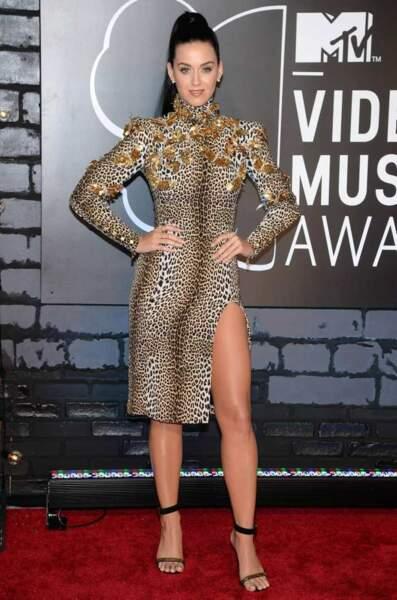 Katy Perry en léopard...