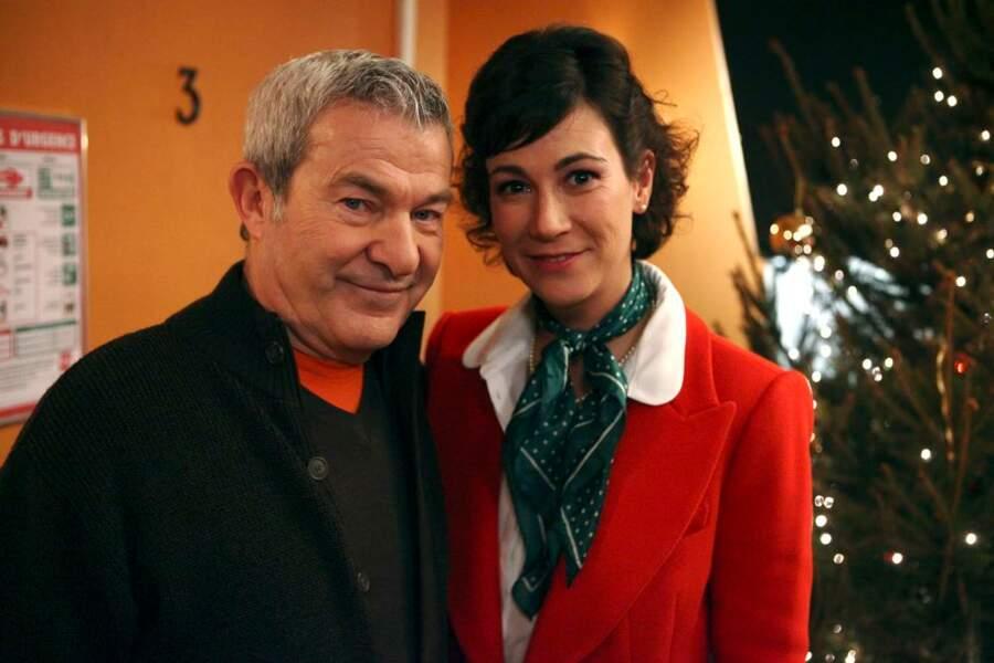 Virginie Hocq et Martin Larmotte