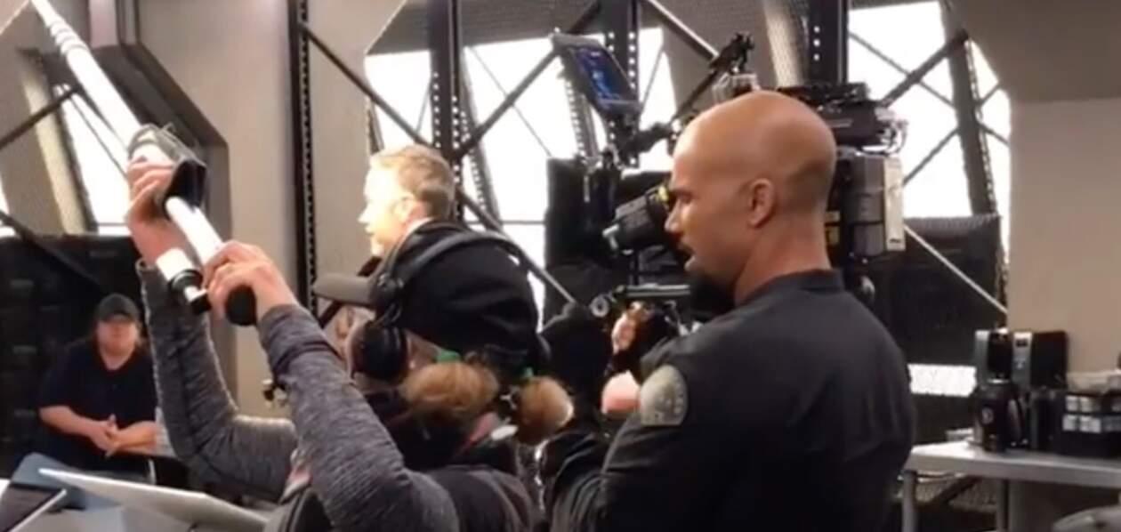 Shemar Moore s'emparerait-il de la caméra le temps d'un épisode de SWAT ?