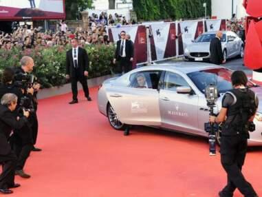 George Clooney, Sandra Bullock et Virginie Ledoyen à la Mostra de Venise