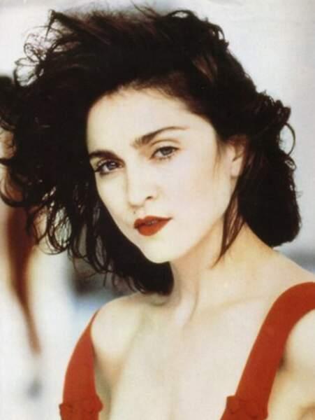 Madonna assumait pleinement ses origines italiennes.
