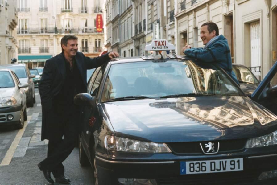 Chauffeur de taxi devenu ou pas meilleur ami de Daniel Auteuil dans Mon meilleur ami (2006)