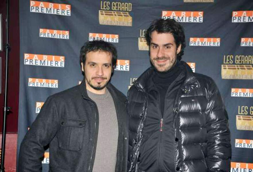 Alexandre et Simon Astier