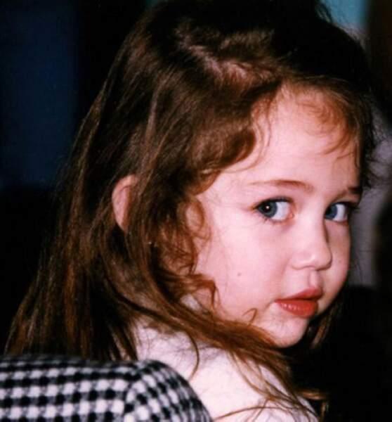 Oh quelle est mignonne la petite Miley !